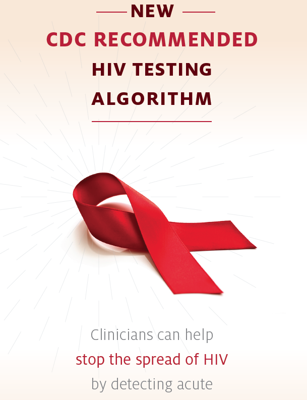 New CDC Recommended HIV Testing Algorithm